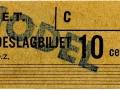 RET 1964 toeslagbiljet 10 cents (316) -a