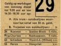 RET 1964 weekkaart 30-cent tarieftrajecten 2,25 -a