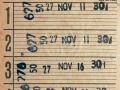 RET 1965 5 rittenkaart 1,35 (351) -a