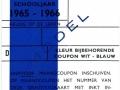 RET 1965 Identiteitskaart scholieren wit-blauw -a