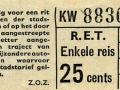 RET 1965 enkele reis 25 cts (201C) -a