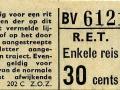 RET 1965 enkele reis 30 cts (202C) -a