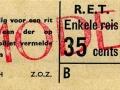 RET 1965 enkele reis 35 cts (105H) -a
