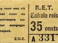 RET 1965 enkele reis 35 cts (203A) -a