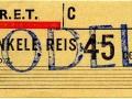 RET 1965 enkele reis 45 cents (302) -a