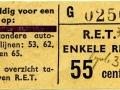 RET 1965 enkele reis 55 cts bijzondere buslijnen (6) -a