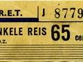 RET 1965 enkele reis 65 cents (154A) -a
