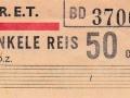 RET 1965 enkele reis stadslijn of 1 sectie 50 cents (103) -a