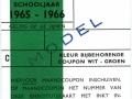RET 1965 identiteitskaart scholieren wit-groen -a