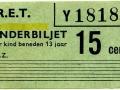 RET 1965 kinderkaartje 15 ct (9) -a
