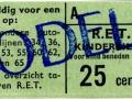 RET 1965 kinderkaartje bijzondere buslijnen 25 ct (11) -a