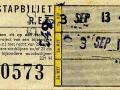 RET 1965 overstapkaartje 30 cts (221H) -a