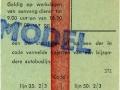 RET 1965 weekkaart 2,50 (372) -a