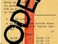 RET 1965 weekkaart 3,00 (373) -a
