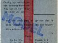 RET 1965 weekkaart 3,00 (374) -a