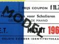 RET 1966 maandcoupon scholieren 11,70 -a