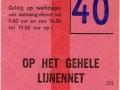 RET 1966 weekkaart 3,50 gehele lijnennet (375) -a