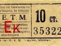 RETM 1904 enkele reis Rtd-Schd 10 cts -a