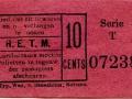RETM 1920 enkele reis 10 cts -a