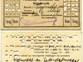 RETM 1922 persoonlijk schoolabonnement maand 3,50 (70-E) -a