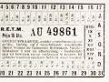 RETM 1923 overstapkaartje 15 cts -a