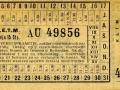 RETM 1923 overstapkaartje 2 lijnen 15 cts -a