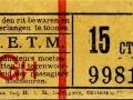 RETM 1904 enkele reis 15 cts -a