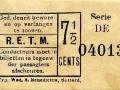 RETM 1904 enkele reis 7,5 cts -a