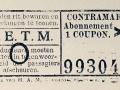 RETM 1919 contramark abonnement 1 coupon -a