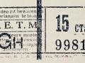 RETM 1919 enkele reis 15 cts -a