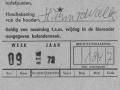 RTM 1972 5-daagse weekkaart -a