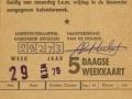 RTM 1976 5-daagse weekkaart (5) -a