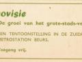 RET 1968 metrokaart gratis kaartje achterzijde -a