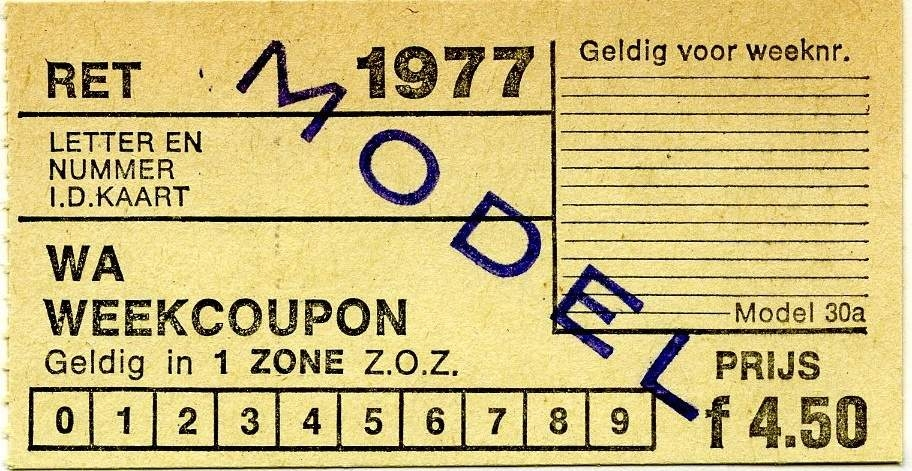 RET 1977 weekcoupon 1 zone 4,50 (30a) (1) -a