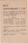 RET 1967 5 rittenkaart 2 achterzijde 1,25 (101A) -a