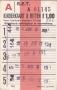 RET 1967 8 ritten kinderkaart voorverkoop 1,00 (116) -a