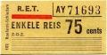 RET 1967 enkele reis 75 cents (102) -a