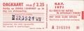 RET 1971 dagkaart gehele lijnennet 2,25 (22) -a