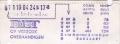 RET 1974 1 zone biljet automaat -a