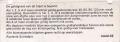 RET 1974 1 zone biljet automaat achterzijde (49) -a