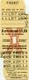 RET 1974 8-rittenkaart voorverkoop 3,60 -a