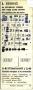 RET 1974 8-rittenkaart wagenverkoop 2,40 (1C) -a