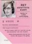 RET 1974 identiteits stamkaart (340) -a