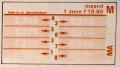 RET 1974 maandkaart 1 zone 19,60 -a