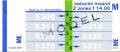 RET 1978 maandkaart 2 zones reductie 14,00 (344) -a