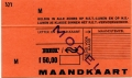 RET 1978 maandkaart RET-NS 50,00 -a