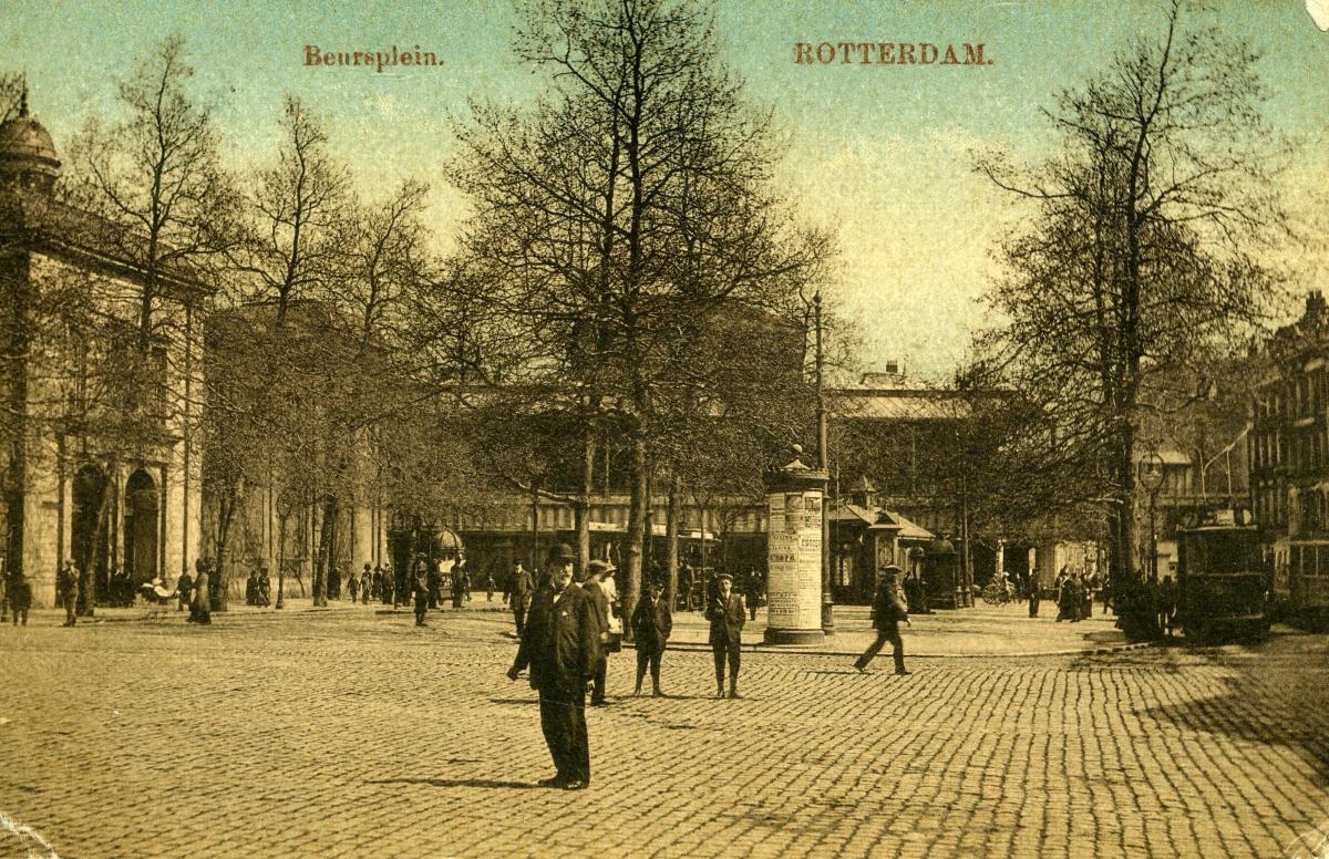 Beursplein 1913-1 -a