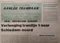 Aanleg Trambaan Schiedam Noord