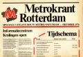 Metrokrant Rotterdam 10-1976