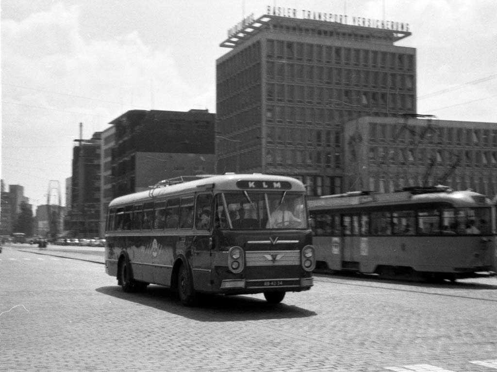 KLM bus kenteken RB-47-34 -a
